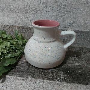Peculiar paint splatter small opening coffee mug
